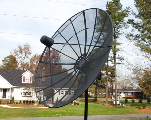 Nov. 30 - satellite dish
