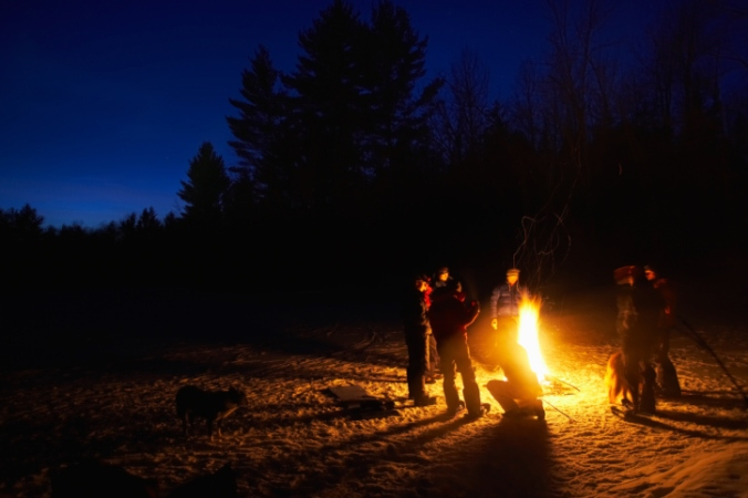 Nov. 30 - winter bonfire