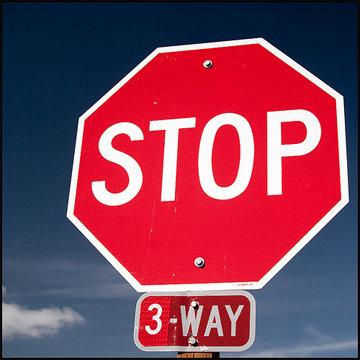 Nov. 7 - stop sign